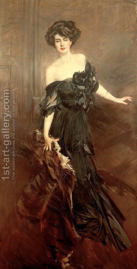 Mademoiselle de Nemidoff by Giovanni Boldini - Reproduction Oil Painting