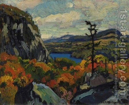 Early Autumn, Montreal River, Algoma by James Edward Hervey MacDonald - Reproduction Oil Painting