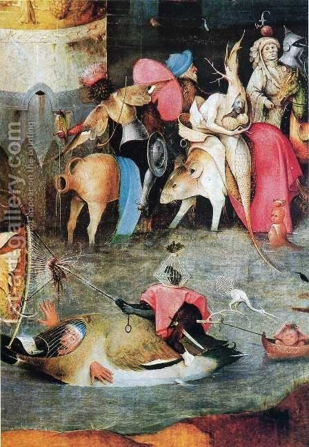 Group of Victims by Hieronymous Bosch - Reproduction Oil Painting