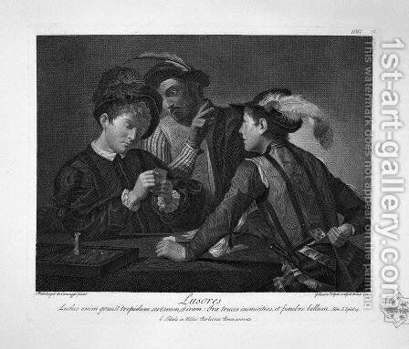 Orc, Lucina and Morandini, by Giovanni Lanfranco by Giovanni Battista Piranesi - Reproduction Oil Painting