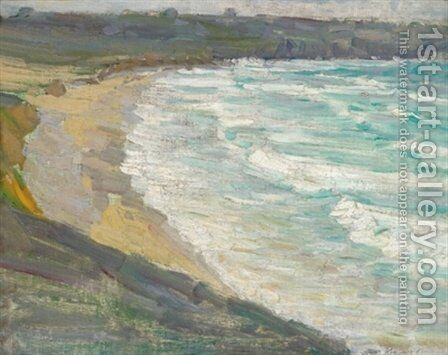Tip of the Bay by Max Kurzweil - Reproduction Oil Painting