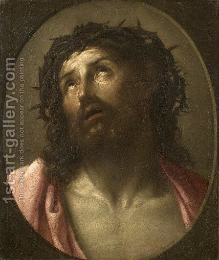 Man of Sorrows by Guido Reni - Reproduction Oil Painting
