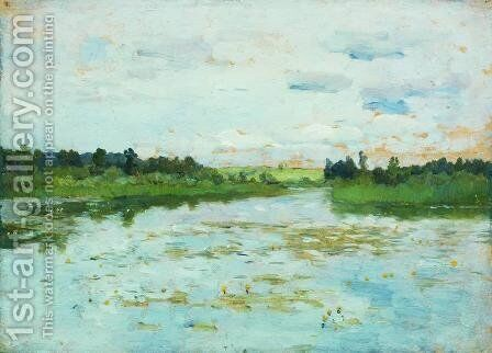 Lake 2 by Isaak Ilyich Levitan - Reproduction Oil Painting