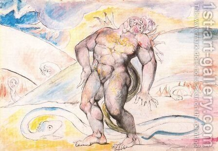 Unknown 5 by William Blake - Reproduction Oil Painting