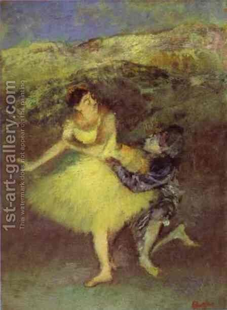 Ballet at the Paris Opera by Edgar Degas - Reproduction Oil Painting