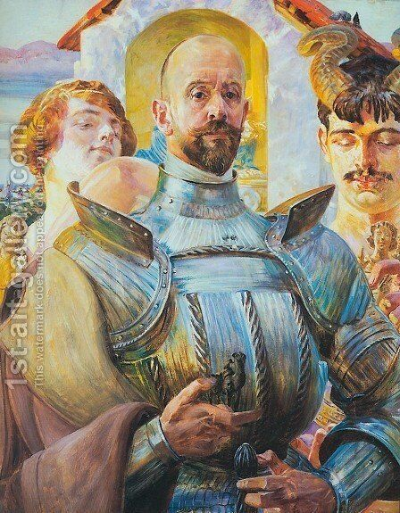 Polish Hector by Jacek Malczewski - Reproduction Oil Painting