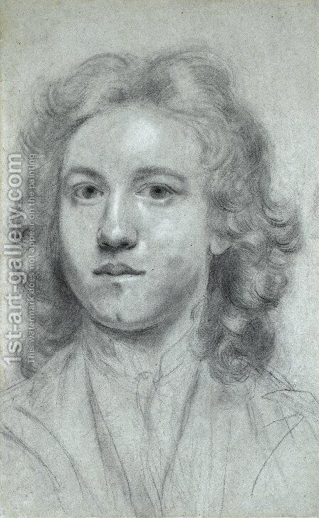 Self-Portrait 5 by Sir Joshua Reynolds - Reproduction Oil Painting