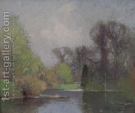 Spring Landscape by Emil Carlsen - Reproduction Oil Painting