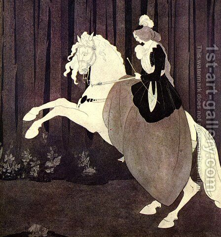 Chopin by Aubrey Vincent Beardsley - Reproduction Oil Painting