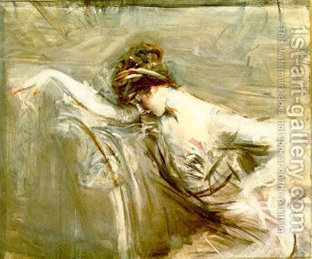 Mlle Laure by Giovanni Boldini - Reproduction Oil Painting