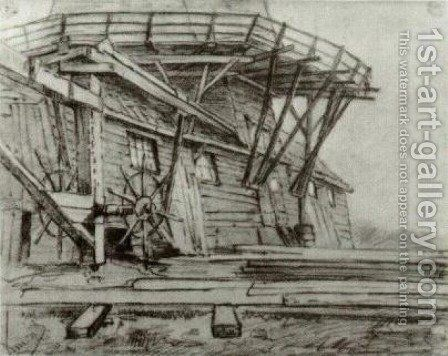 Saw Mill by Vincent Van Gogh - Reproduction Oil Painting