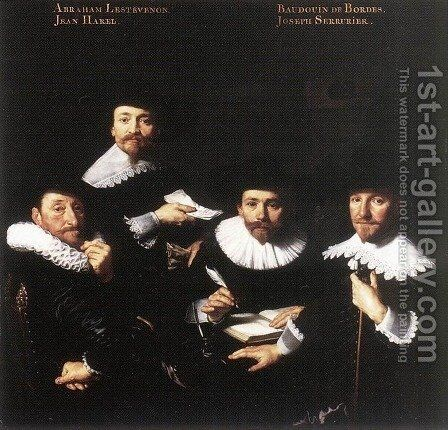 Regents of the Walloon Orphanage 1637 by Bartholomeus Van Der Helst - Reproduction Oil Painting