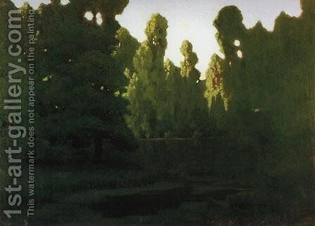 Forest 2 by Arkhip Ivanovich Kuindzhi - Reproduction Oil Painting