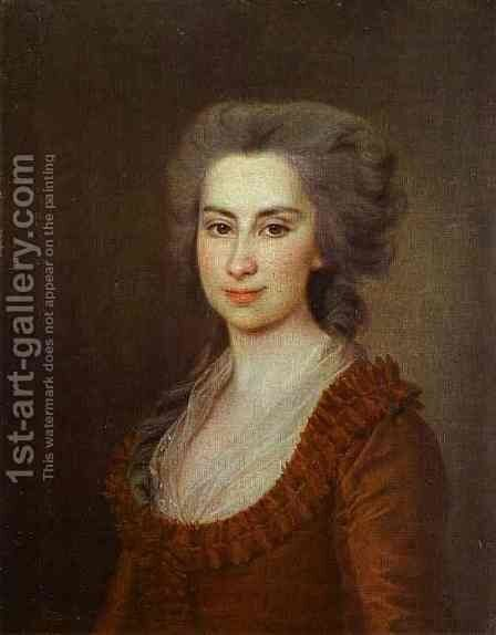 Portrait of Countess N. F. Vorontsova by Dmitry Levitsky - Reproduction Oil Painting