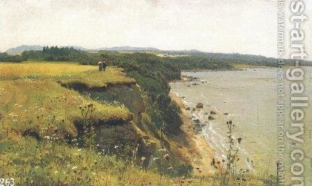 On the Shore of the Gulf of Finland. Udrias Near Narva by Ivan Shishkin - Reproduction Oil Painting