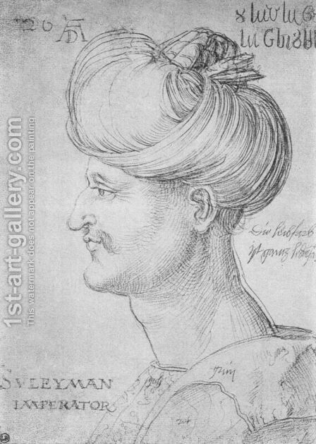 Sultan Soliman by Albrecht Durer - Reproduction Oil Painting