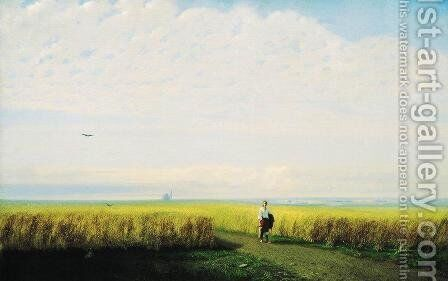 Steppe. Cornfield by Arkhip Ivanovich Kuindzhi - Reproduction Oil Painting