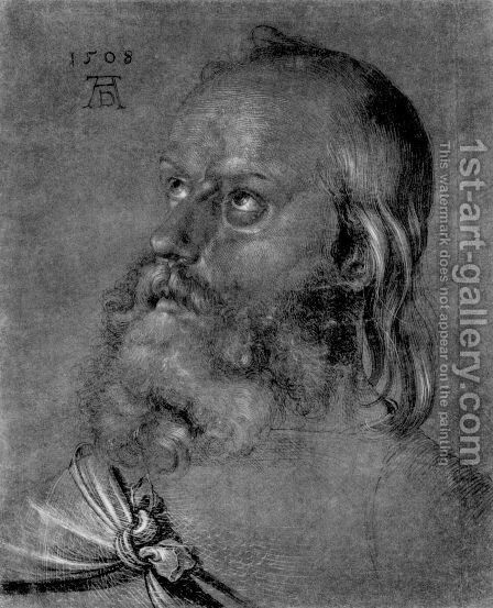 Head of an apostle by Albrecht Durer - Reproduction Oil Painting