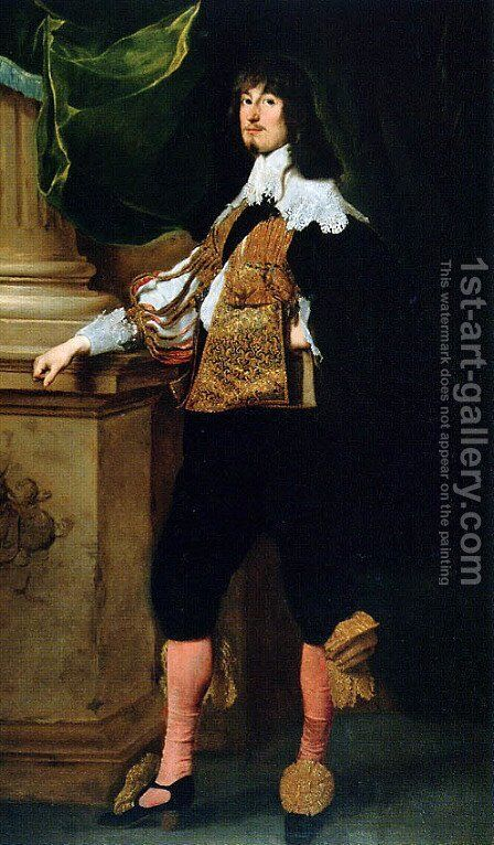 Johan Oxenstierna by Sir Anthony Van Dyck - Reproduction Oil Painting