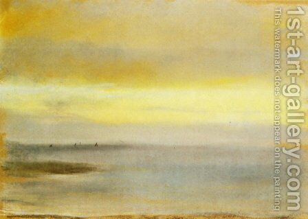 Marina, Sunset by Edgar Degas - Reproduction Oil Painting