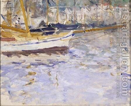 The Port of Nice 2 by Berthe Morisot - Reproduction Oil Painting