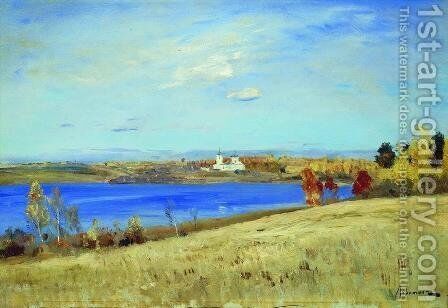 Autumn. River. by Isaak Ilyich Levitan - Reproduction Oil Painting