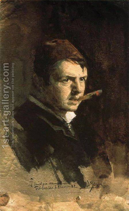 Self-portrait 2 by Anders Zorn - Reproduction Oil Painting