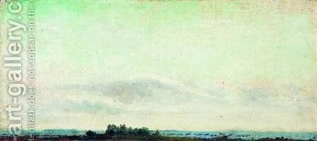 Landscare. Distant View. by Isaak Ilyich Levitan - Reproduction Oil Painting