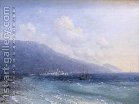 Yalta 3 by Ivan Konstantinovich Aivazovsky - Reproduction Oil Painting