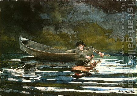 Unknown 4 by Winslow Homer - Reproduction Oil Painting