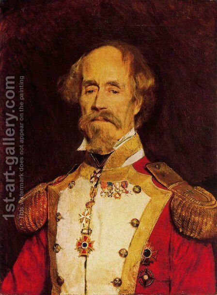 Portrait of Spanish General by Giovanni Boldini - Reproduction Oil Painting