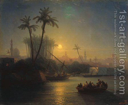 Golden Horn 2 by Ivan Konstantinovich Aivazovsky - Reproduction Oil Painting