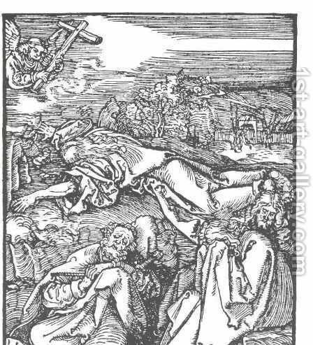 Christ on the mount olive by Albrecht Durer - Reproduction Oil Painting