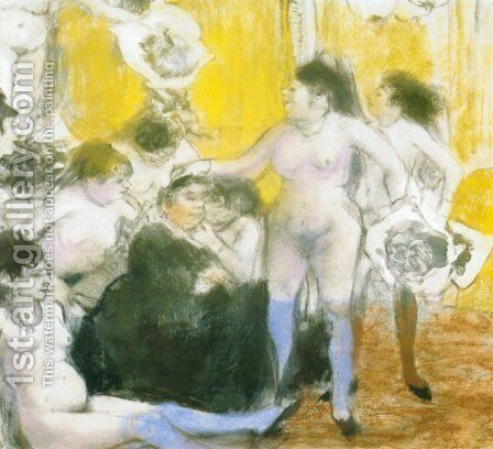 The festival of the owner by Edgar Degas - Reproduction Oil Painting