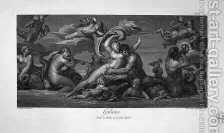 Apollo and Silenus by Giovanni Battista Piranesi - Reproduction Oil Painting