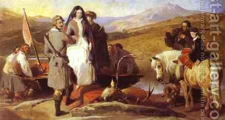 Royal Sports on Hill and Loch by Sir Edwin Henry Landseer - Reproduction Oil Painting