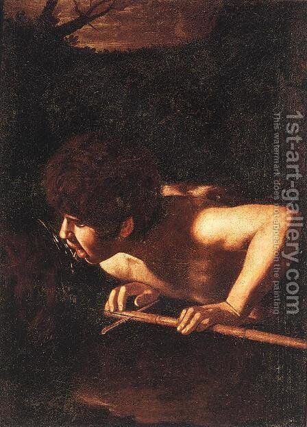 John the Baptist by Caravaggio - Reproduction Oil Painting