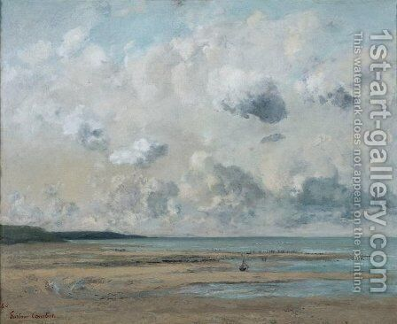 Shores of Normandy by Gustave Courbet - Reproduction Oil Painting
