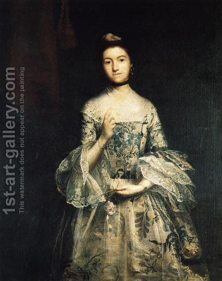 Mrs. William Molesworth by Sir Joshua Reynolds - Reproduction Oil Painting