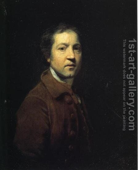 Self-Portrait 6 by Sir Joshua Reynolds - Reproduction Oil Painting
