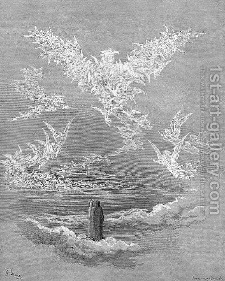 The Eagle II by Gustave Dore - Reproduction Oil Painting