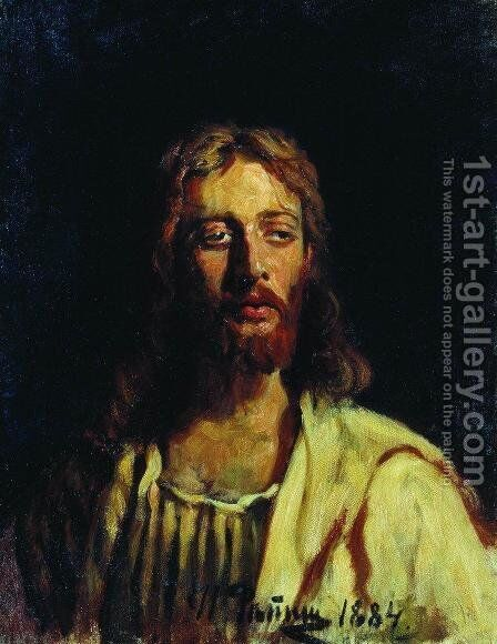 Christ 2 by Ilya Efimovich Efimovich Repin - Reproduction Oil Painting