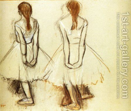 Study for the Fourteen Year Old Little Dancer by Edgar Degas - Reproduction Oil Painting