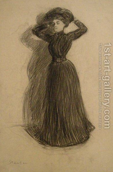 Alexis by Theophile Alexandre Steinlen - Reproduction Oil Painting