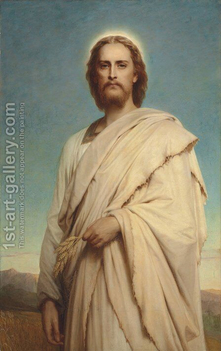 Christ of the Cornfield by Sir Frank Dicksee - Reproduction Oil Painting