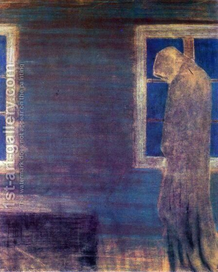 Funeral Symphony (VII) by Mikolajus Ciurlionis - Reproduction Oil Painting
