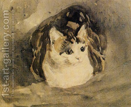 The Cat by Gwen John - Reproduction Oil Painting