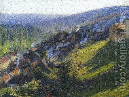 Labastide du Vert in Afternoon by Henri Martin - Reproduction Oil Painting