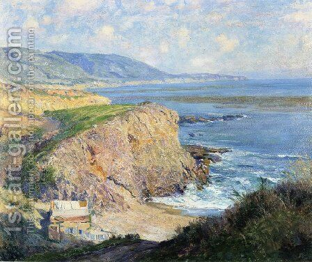 Laguna 2 by Guy Rose - Reproduction Oil Painting