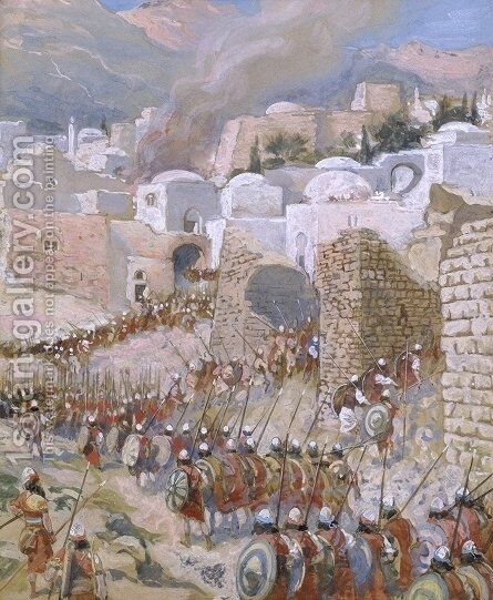 The Taking of Jericho by James Jacques Joseph Tissot - Reproduction Oil Painting